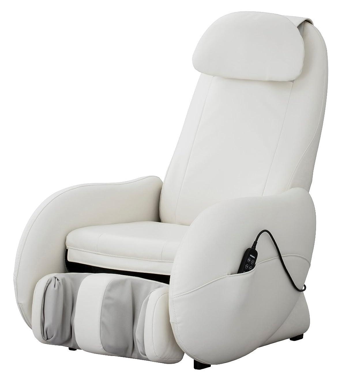 柔らかい足追加オーディションスライヴ マッサージチェア 「もみたたき機能搭載」 ホワイト CHD-3500 WH