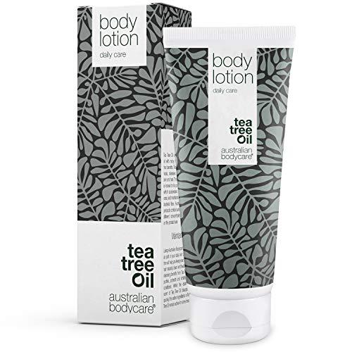 Australian Bodycare Body Lotion 200ml | Teebaumöl Körperlotion für Männer & Frauen bei Unreiner & Trockener Haut, Pickeln, Juckreiz, Schweißgeruch | Auch zur Pflege bei Pilzinfektionen, Ringelflechte