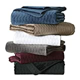 Brielle Home Gibson Quilt Set, Full/Queen, Taupe