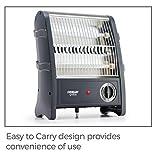 Eveready QH800 800-Watt Room Heater (Black)