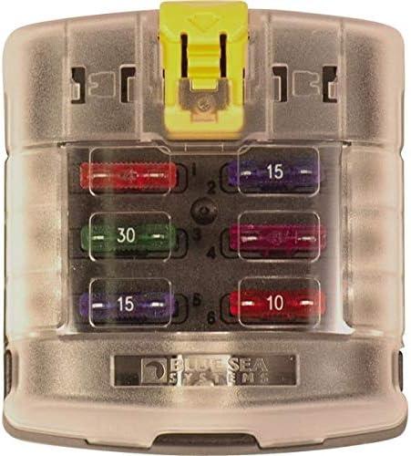 BLUE SEA ATC Ultra-Cheap Deals FUSE BLOCK - SEAL limited product 6 A 100 CIRCUIT AMP 30 PER