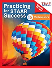 TIME FOR KIDS® Practicing for STAAR Success: Mathematics: Grade 5 (Spanish Version) (Classroom Resources) (Spanish Edition)