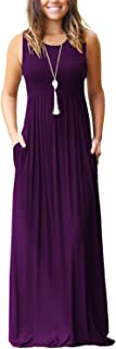 Best pink sleeveless maxi dress Reviews