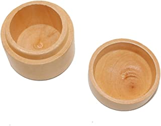 Healifty Vorschlag Ring Box Andenken Geschenk Holz Einfache Hochzeit Ring Bearer Box für Hochzeit Verlobungsfeier