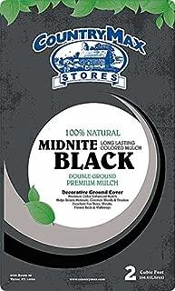 CountryMax Midnite Black Premium Hardwood Mulch, 2 Cu. Ft.