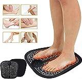EMS - Masajeador de pies eléctrico, cojín de masaje de pies, masajeador de pies, estimulación muscular EMS (6 modos y 10 intensidad)