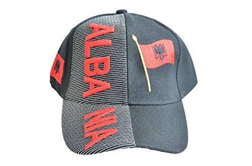 Kappe Motiv Albanien Fahne, nation - Cap mit albanischer Fahne