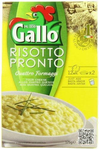 Riso Gallo Risotto Pronto 4 Cheese 175g, 6 Pack