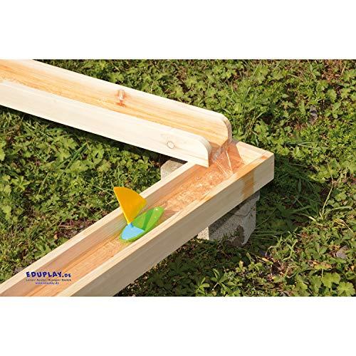 EDUPLAY EDUPLAY 160252 Wasserbahnen Holzbahnen, Natur Bild