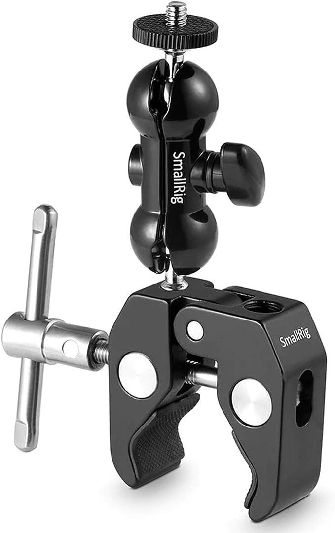 1614 opinioni per SMALLRIG Cool Ballhead Magic Arm con Super Clamp per DJI Ronin M, Monitor,