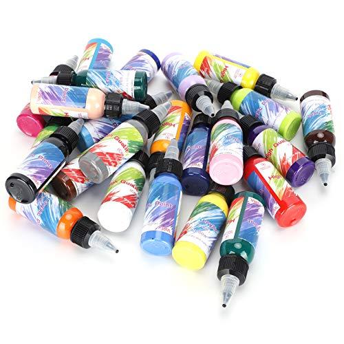 Kadimendium Pigmento per Pittura ad Asciugatura Rapida, pigmento per Pittura Impermeabile, Bambini Principianti multifunzionali durevoli per Graffiti per Pittura acrilica
