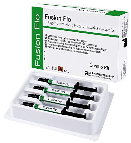 Prevest DenPro Prevest Fusion Flo Dental Light Cured Nano Hybird