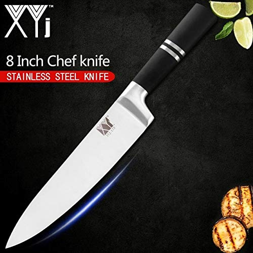 Best Quality New Stainless Steel Kitchen Knife 3Cr13mov Kitchen Chef Knives Set Bread Slicer Sashimi Knife Cooking Tools