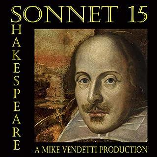 Sonnet 15 cover art