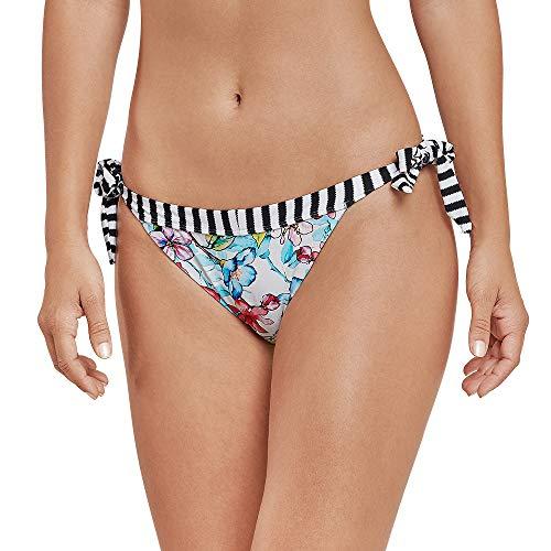 Schiesser Damen Mix & Match Bikinislip Tanga Bikinihose, Mehrfarbig (Multicolor 1 904), 44
