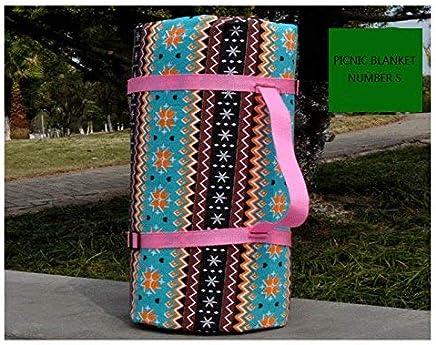 GGDGENJN 300 x 300CM im Freien Picknick-Decke-Strand-Matte Wasserdicht Isomatte faltbar, Large Größe, Fünf, 210  150-300  300 B07PTRRGH2 | Günstigstes