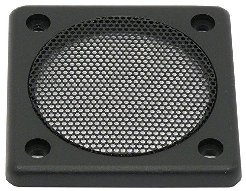 Visaton Schutzgitter FRS 7, Schutzgitter aus schwarz lackiertem Metall Zierring aus schwarzem (973977000505)