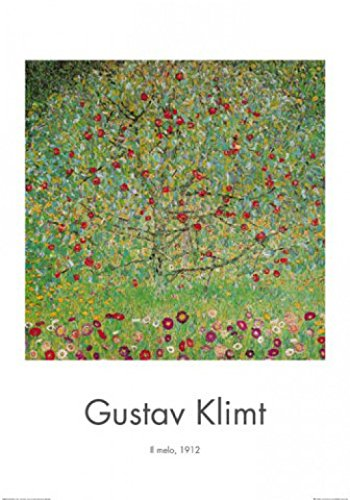 1art1 Gustav Klimt - Der Apfelbaum I Poster Kunstdruck 100 x 70 cm
