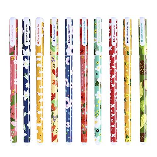 Ciaoed Plumas de Gel Color Escritura Juego de bolígrafos de gel de la escuela oficina, Suministros de Arte y Estudiantes, Sin Olor y no Tóxicos