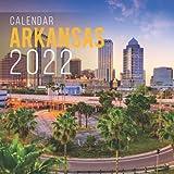 Arkansas Calendar 2022: Calendar 2022 with 6 Months of 2021 Bonus