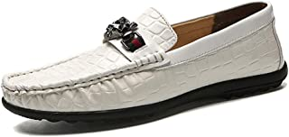 Men's Tide Extra Large peas Shoes, Breathable Casual peas Shoes Men