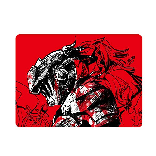 BSHDUFN Goblin Slayer Mouse pad Smooth Surface Optical Mouse for Laptop Computer For Boys And Girls PU Base (Color : A05, Size : 260 X 210 X 3mm)