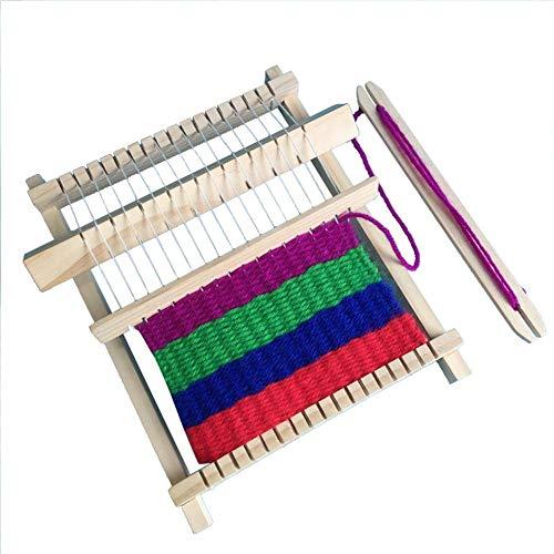 NITRIP 木製 手織り機 編み機 はたおりき 卓上織り機 手芸用品 贈り物 クリスマス 新年 お誕生日