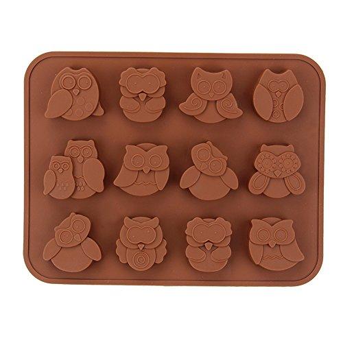 homiki 12 cavité Fleur Silicone Ice Cube gâteau Savon Moule à gâteau à pain Moule à chocolat Jelly Bonbons Moule à gâteau Moule à muffins