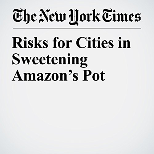 Risks for Cities in Sweetening Amazon's Pot copertina
