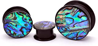 Best abalone shell plugs Reviews