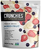 Crunchies Crispy 100% All Natural Freeze-Dried Fruits, 1 Ounce (6 Snack Pack) (Mixed Fruit)