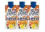 Bifrutas - Tropical Zero - Bebida Refrescante de Leche y Zumo de Frutas - 3 x 330 ml