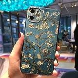 La funda para teléfono móvil con pintura al óleo Van Gogh art es adecuada para iphone 12 MIni 11Pro MAX XS 8 7 6 6S Plus X XR SE2020 funda,funda protectora de silicona TUP ultrafina a prueba de golpes