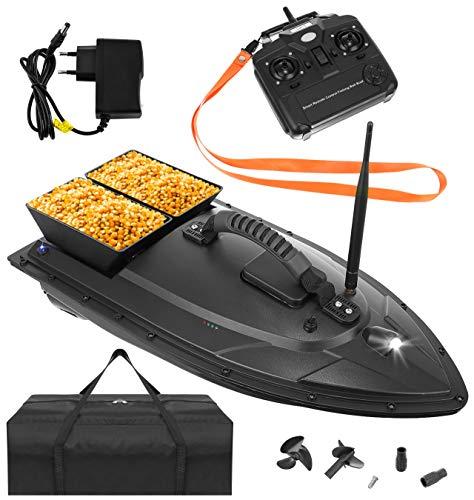 ISO TRADE Ferngesteuertes Boot Fischköder Boot 1-2 kg Beladung 300-500m Fernbedienung 9775, Größe:1000g