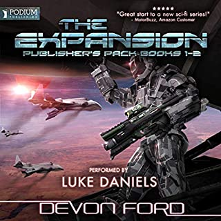 The Expansion: Publisher's Pack audiobook cover art