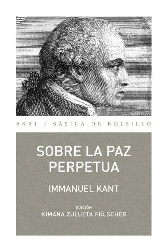 Sobre la paz perpetua (Básica de Bolsillo nº 253)