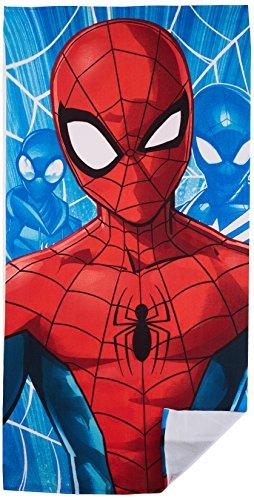 Spiderman Strandtuch, für Jungen, Türkis (Türkei 1), Einheitsgröße (Größe Hersteller: TU)