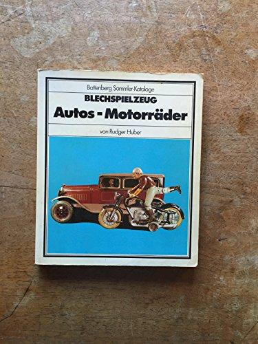 Blechspielzeug Autos und Motorräder