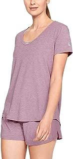 Under Armour Women's Athlete Recovery Sleepwear Short Sleeve Shirt