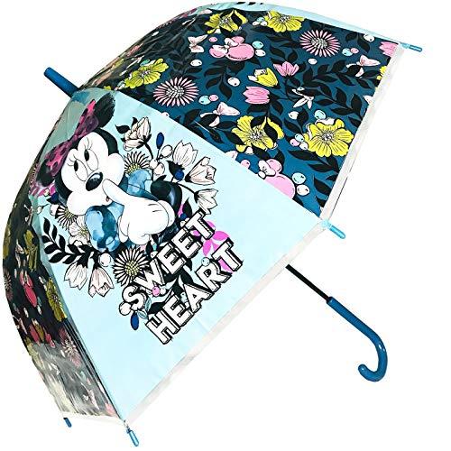"Ombrello Manuale Minnie Mouse Disney - 18"" 8 Raggi - Bambina - WD20985"