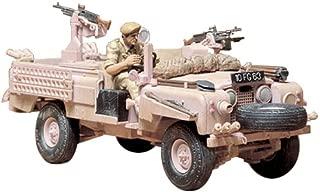 Tamiya 3000350761: 35 ScaleWWII British SAS Land Rover, Pink Panther Model (1)