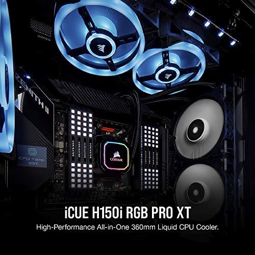 『Corsair H150i PRO RGB 水冷CPUクーラー [Intel/AMD両対応] FN1149 CW-9060031-WW』の2枚目の画像