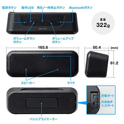 サンワサプライ『Bluetoothスピーカー(400-SP086)』