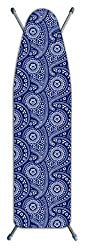top 10 iron boards Westex Paisley Deluxe Laundry Solution 3-layer thick ironing board cover and pillows, …
