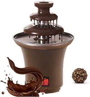 Household Mini Chocolate Fountain Fondue Homemade Electric Chocolate Melting Tower Three Layer Waterfall Machine Hot Choco...