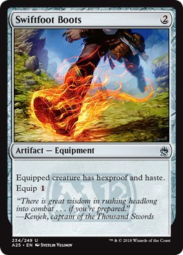Magic: the Gathering - Swiftfoot Boots - Stivali Piedelesto - Masters 25
