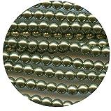 5810 9 LGR *** 12 cuentas de cristal nacarado de Swarovski, ref. 5810 9 mm, color verde claro