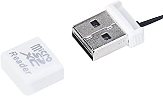 Cotchear White Computer Card Reader Mini Super Speed USB 2.0 Micro SD/SDXC TF Card Reader Adapter Gifts Wholesale Drop Shipping