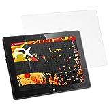 atFolix Schutzfolie kompatibel mit CSL Panther Tab 10 HD Bildschirmschutzfolie, HD-Entspiegelung FX Folie (2X)