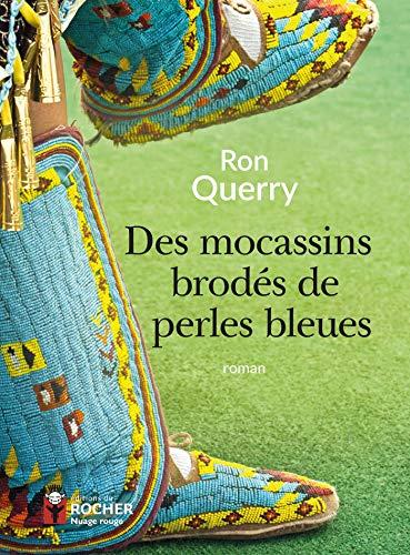 Des mocassins brodés de perles bleues (Nuage Rouge) (French